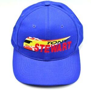 Vintage Tony Stewart INDY Car Indianapolis 500 Snapback Hat Cap FREE SHIPPING