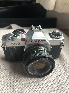 Canon AV-1 Film Camera