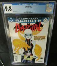 Batgirl #4 (2016) Rafael Albuquerque Cover CGC 9.8 D567