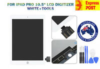 """FOR IPAD PRO 10.5"""" A1701 A1709 LCD DISPLAY+TOUCH SCREEN DIGITIZER WHITE+TOOLS"""