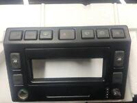 Land rover defender Td5 Center Dash Panel Console Td5 Dash Center