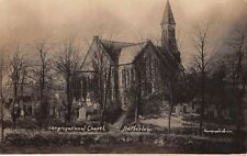 Cheshire - HATHERLOW, Congregational Church,  Real Photo Thompson's Series