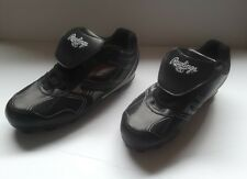 Rawlings Men's Low/Black Cleats FRONT FLAPS. Size 7