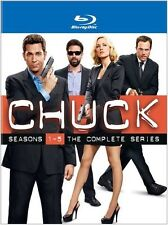 Chuck The Complete Series Blu-ray Set Collection All Season Episodes Box TV Show