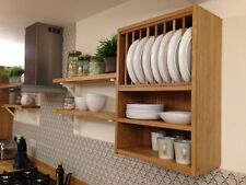 CHURCTOWN - Oak Platerack **Standard Sizes fits straight into a NEW KITCHEN**