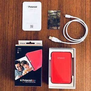 Polaroid Zip POLMP01 Zink Mobile Printer - Red - New Open Box