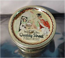 Vintage Macintosh's Quality Street Toffee & Chocolate Empty 1lb Tin Can