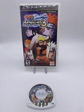 Naruto Shippuden: Ultimate Ninja Heroes 3 (Sony PSP, 2010) Tested