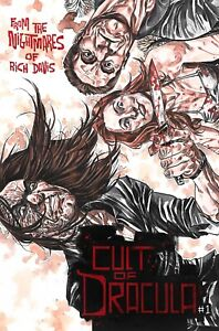 Cult of Dracula #1 Store Exclusive Alex Reigle Trade Dress
