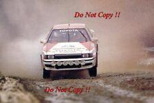 Bjorn Waldegard Toyota Celica GT-Four RAC Rally 1988 Photograph 1