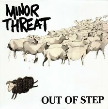 "Minor Threat - Out Of Step 12"" Vinyl LP - SEALED w/ DL - Classic Hardcore Punk"