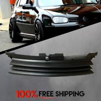VW VOLKSWAGEN GOLF MK4 Front Grill Black Matte Badgeless for years 99 to 05