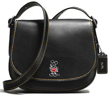 Disney x Coach Mickey Mouse Saddle Bag 23 Extremely Rare 1941, Product # 38421