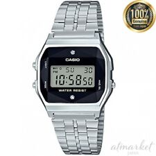 CASIO A159WAD-1JF watch standard with natural diamond in Box from JAPAN