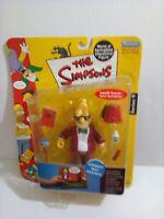 2002 The Simpsons Sunday Best Grandpa Action Figure Playmates Series 9