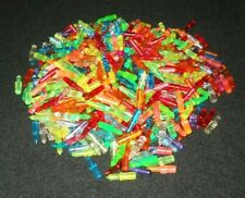 LITE BRITE Light Bright Replacement PEGS Lot 575 Assorted Colors 13/16""