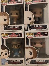 Funko Pop Rock Horror Picture Show. Janet Weiss. Riff Raff. Magenta. Brad Majors