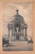 CRIPTA DE LOS HEROES LIMA PERU POSTCARD (c. 1909)