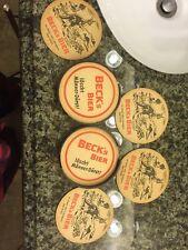 German Becks Bier Vintage Beer Coasters, Bar, Memorabilia, Australian bushland
