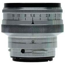 Contax 50mm f1.5 Sonnar RF Lens with UV 1x Filter