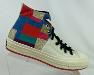 Converse Chuck 70 Hi Chinese New Year CNY Egret/Chile Red/Black 170565C Size 8