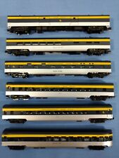 N Scale Chesapeake & Ohio six car smoothside passenger set by Con Cor