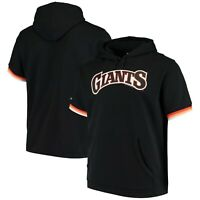 San Francisco Giants MLB Mitchell & Ness French Terry S S Hoody  Men's       NEW