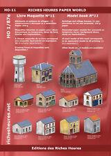 Livre maquette HO n°11 - Bâtiments et maisons de villages