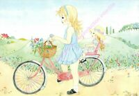 CARTE POSTALE ART S.MOTTE La bicyclette