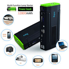 12800mAh Multi-Function Power Bank For iPhone iPad Laptop Camera Car Jump Start