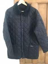 Barbour Liddesdale Quilted Jacket - Navy. Small
