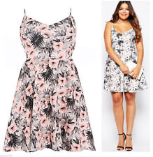 Plus Size Thigh-Length Skater Dresses for Women
