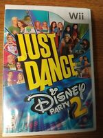 Just Dance: Disney Party 2 (Nintendo Wii, 2015) Tested & Working