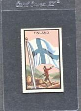 1963 Topps Midgee Flags #28 Finland  (NM)  (Flat Rate Ship)