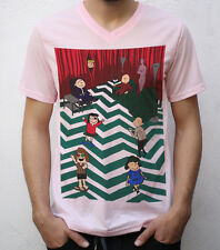 Twin Peaks T shirt, Charlie Brown Design