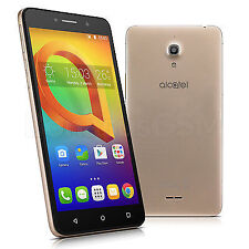 "Alcatel A2 XL 8050D Dual-SIM Smartphone with 6"" Display and 8MP Camera (Gold)"