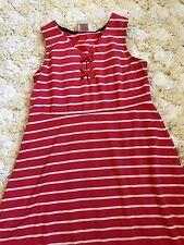 b7251268d99 Jenna   Jessie Girls Dress Casual Sleeveless Striped Summer Dress Size 12