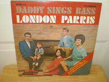 "LONDON PARRIS...""DADDY SINGS BASS""......NEW SEALED GOSPEL ALBUM"