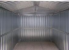 BOX AUTO CASETTA MT. 5,07x2,60x2,11 h. IN LAMIERA ZINCATA NUOVO DI FABBRICA