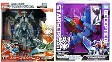 Takara Tomy Transformers Voyager Prime Animated TA-07 + AM-07 Starscream Pack AU