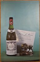 1969 Chrome Advertising Postcard: Armand Roux Pouilly-Fuisse Wine