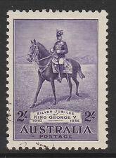 Australia 1935 2 / - Silver Jubilee Sg 158 Fine Used.