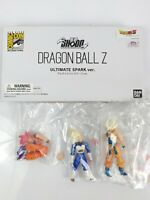 Dragon Ball Ultimate Spark Ver. Shodo Mini Action Figure Set SDCC 2013 Exclusive
