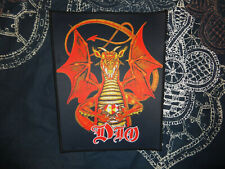 Dio Backpatch Patch Heavy Metal Ozzy Rainbow