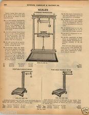 1925 PAPER AD Gaston Dormant Warehouse Scale Beloit Wis Charcoal Sad Iron Potts