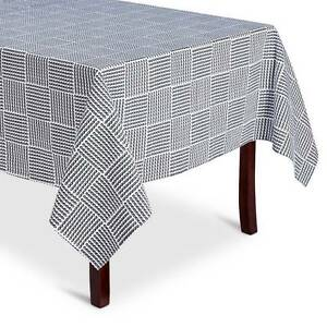 Threshold Rope Print Tablecloth (60x84) and 4 Napkins