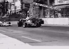 9x6 Photograph , Tom Pryce , Shadow-Dodge DN5 , F5000 GP of Long Beach 1975