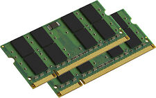 NEW! 4GB 2X2GB PC2-6400 DDR2 800MHz Laptop Memory for Dell Latitude D630 D630C