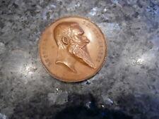 belle medaille jeton  leopold 2 exposition d'envers 1894