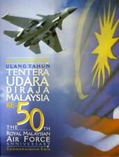 Malaysia 2008 Royal Air Force 50th Anniv  Nordic Gold Coin